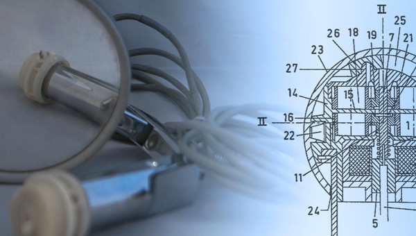 1964 - First Glass Actuator Patent
